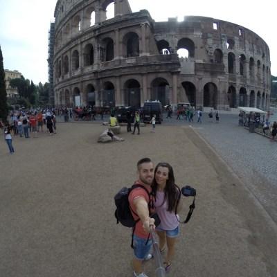 Preparativos para viajar a Roma