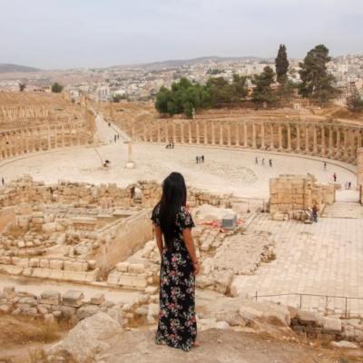 Jerash, la ciudad romana de Jordania