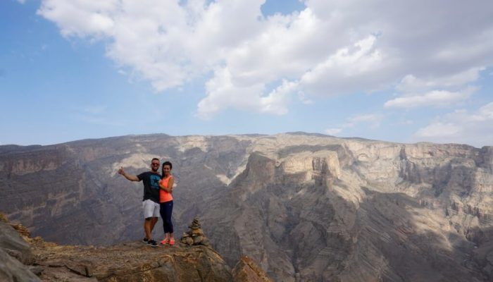 Jebel Shams, la montaña más alta de Omán