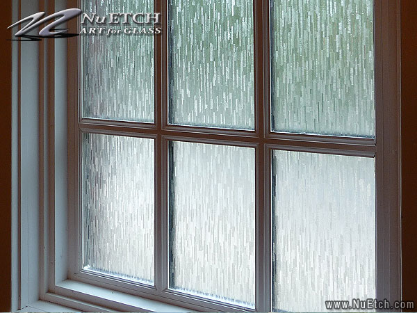Light Effects Etched Lace Decorative Window Film