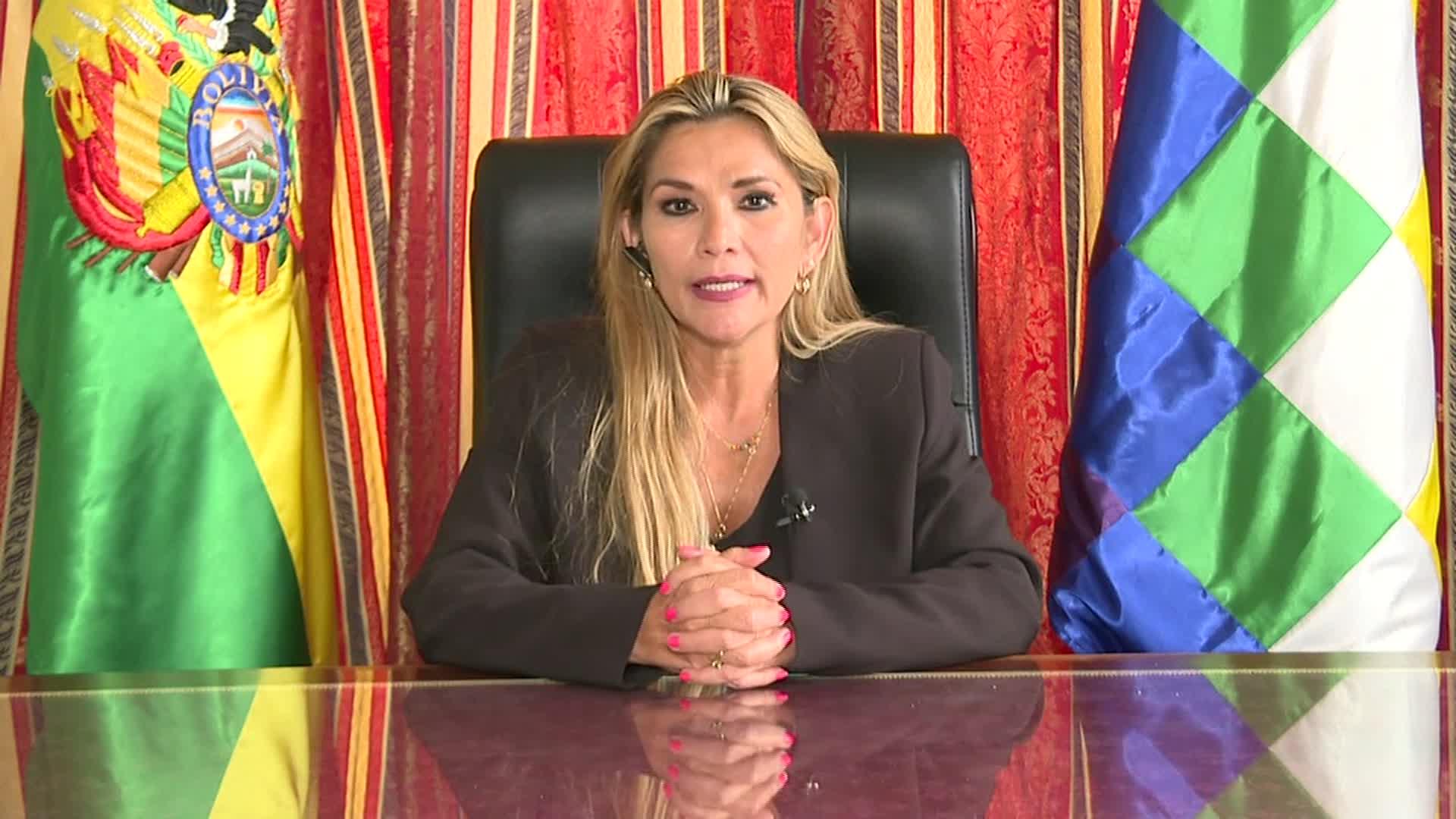"""Rusia reconoció a Jeanine Áñez como """"nueva líder"""" de Bolivia"""