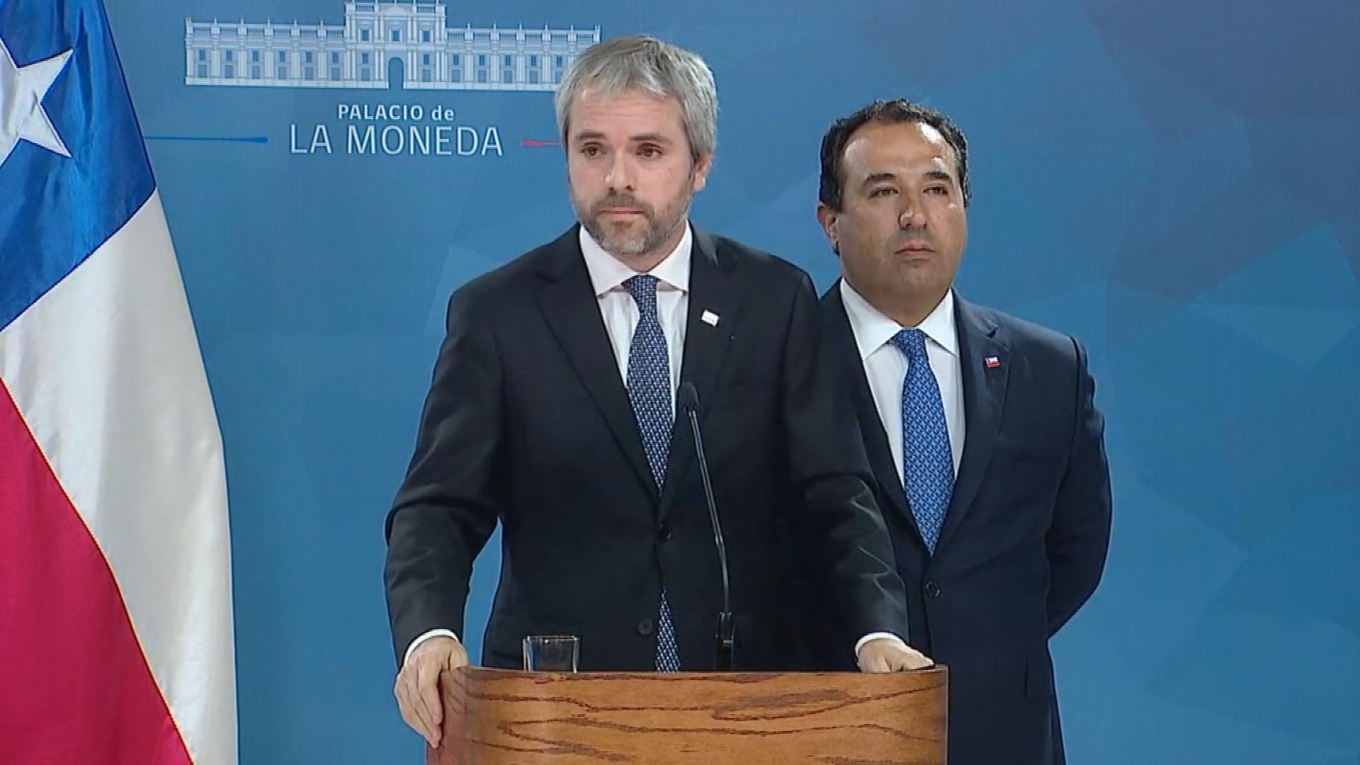 Gonzalo Blumel volvió a respaldar a Carabineros, esta vez por la violencia en Pudahuel