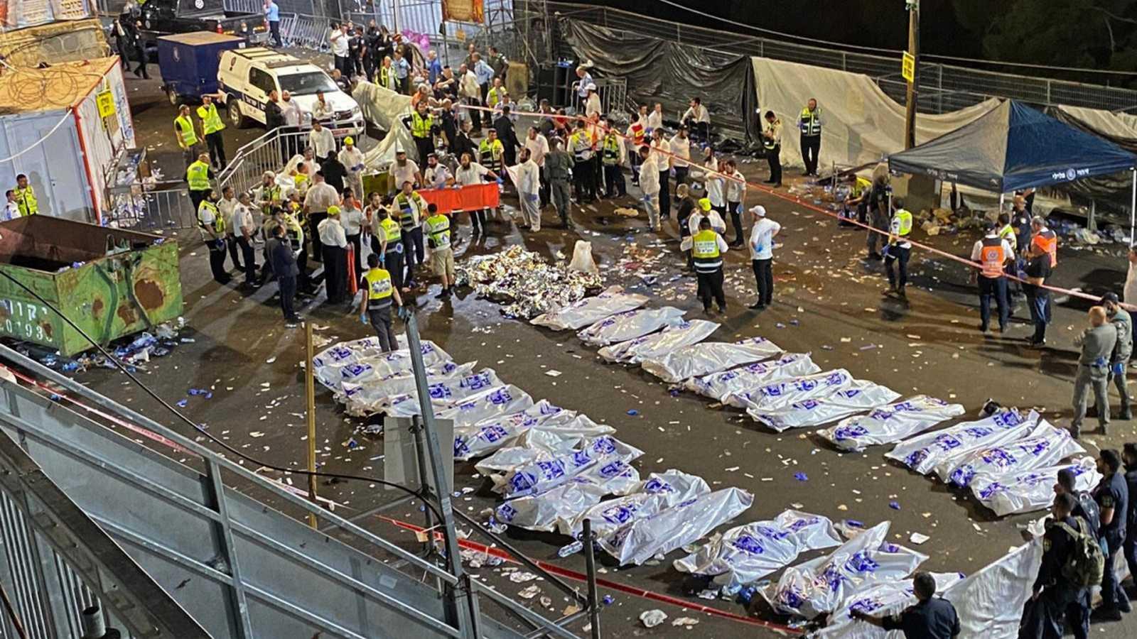 Estampida en Israel: un argentino entre los 44 muertos durante un festival religioso