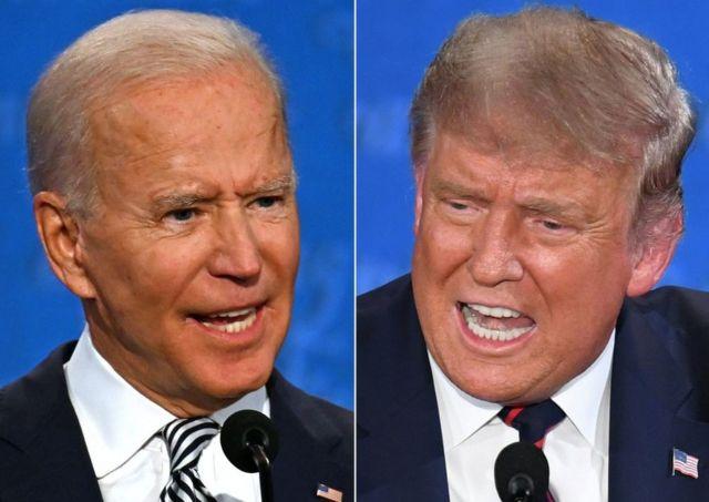 Primer debate presidencial en Estados Unidos entre Trump y Biden