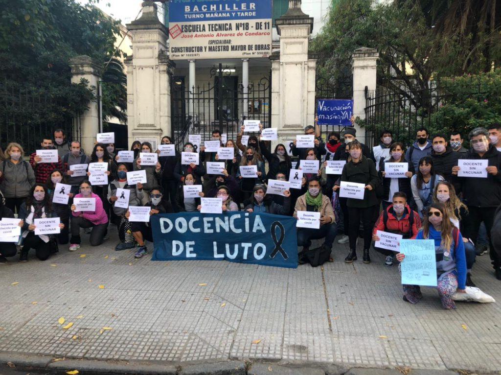 Falleció otra docente porteña: son 14 las víctimas desde que comenzaron las clases presenciales