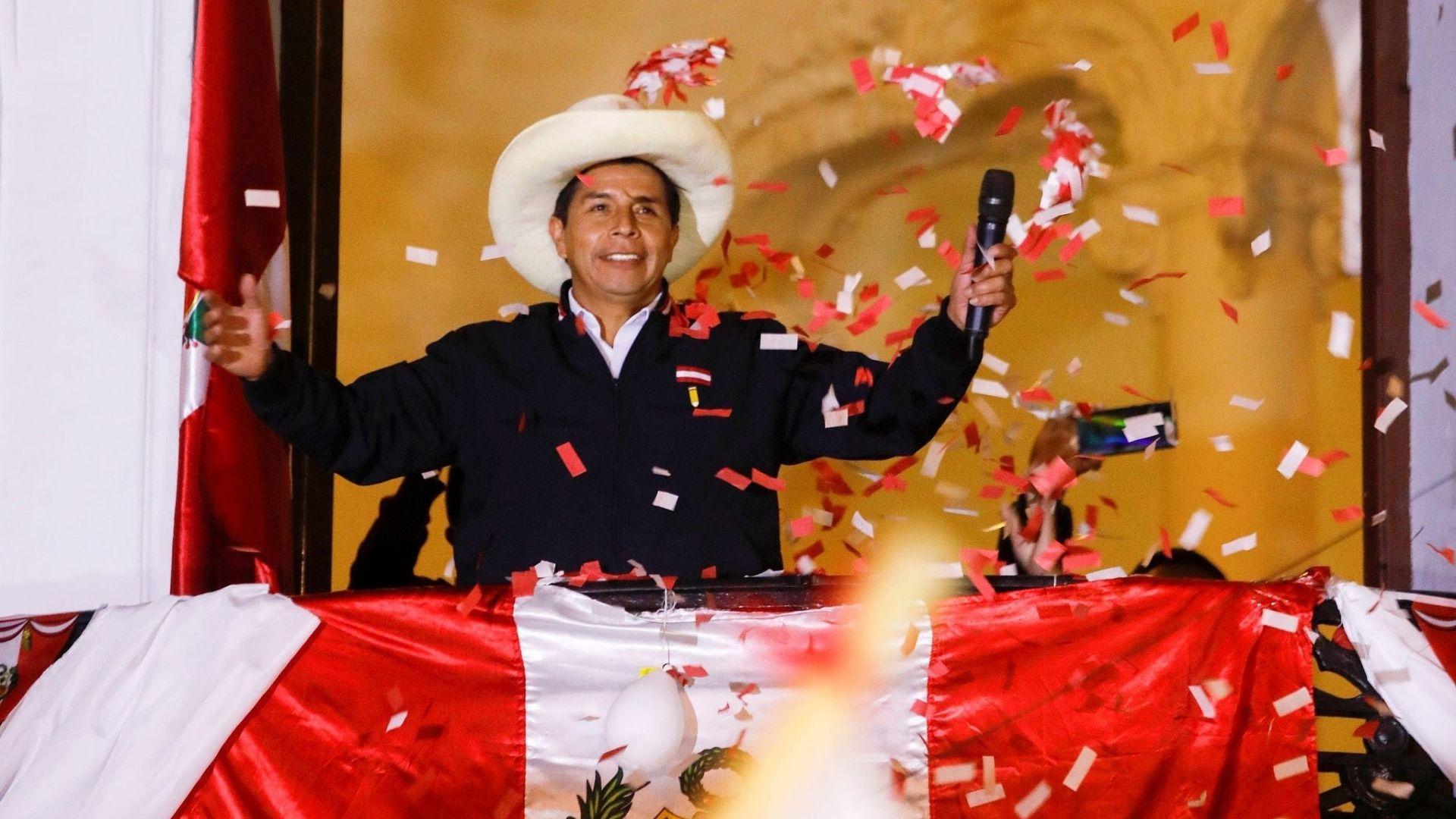 A un mes y medio del ballotage, Pedro Castillo fue proclamado presidente de Perú