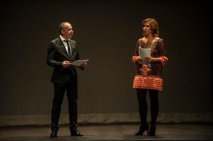 Juanjo Haro y Beatriz Grijuela presentaron la Gala
