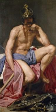 Marte de Velázquez - Pintura que se expondrá hasta el 31 de marzo en el Museo de Bellas Artes de Houston. Foto: MUSEO DEL PRADO/BBVA