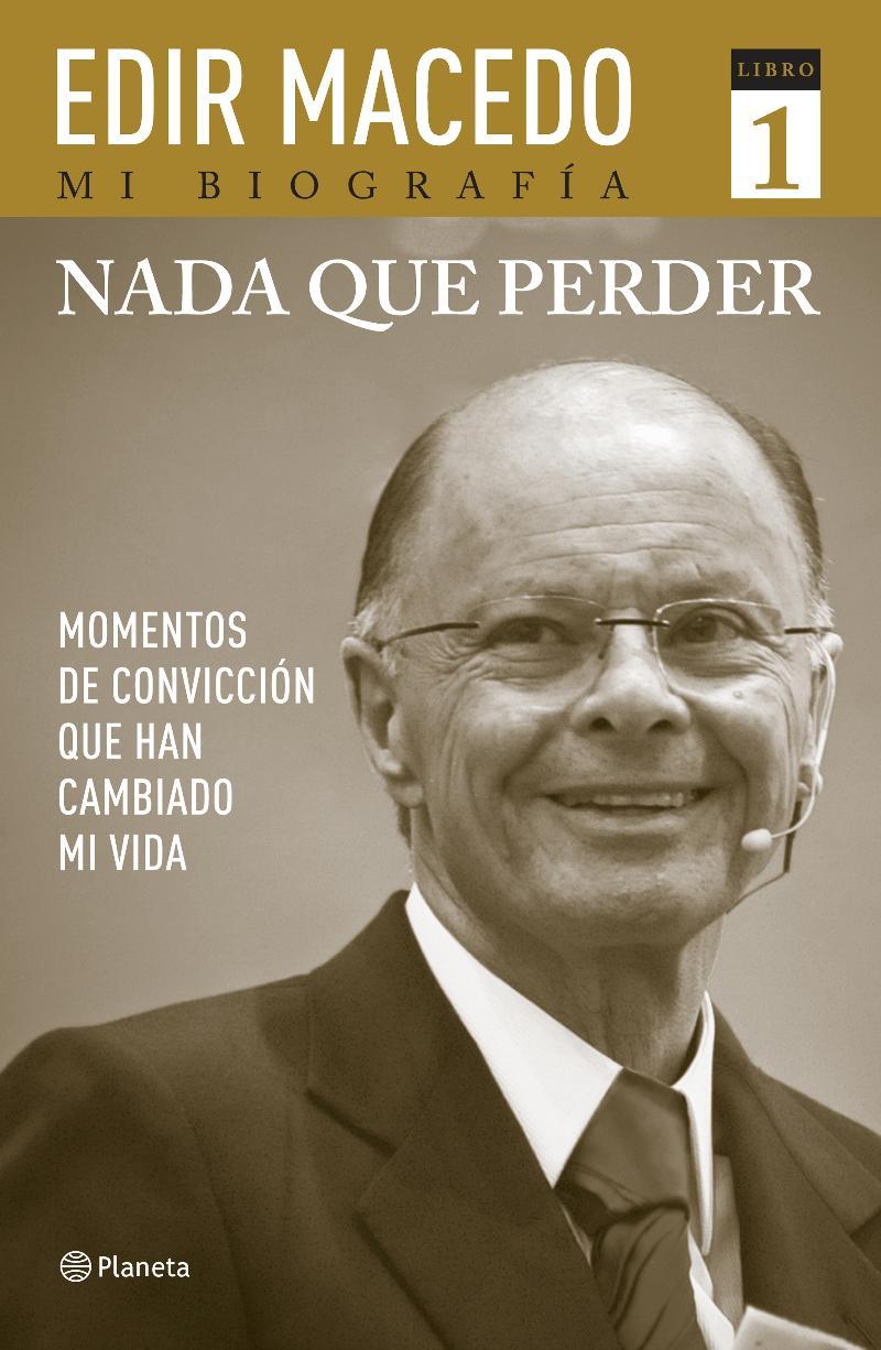 Libro biografico de Edir Macedo de Editorial Planeta