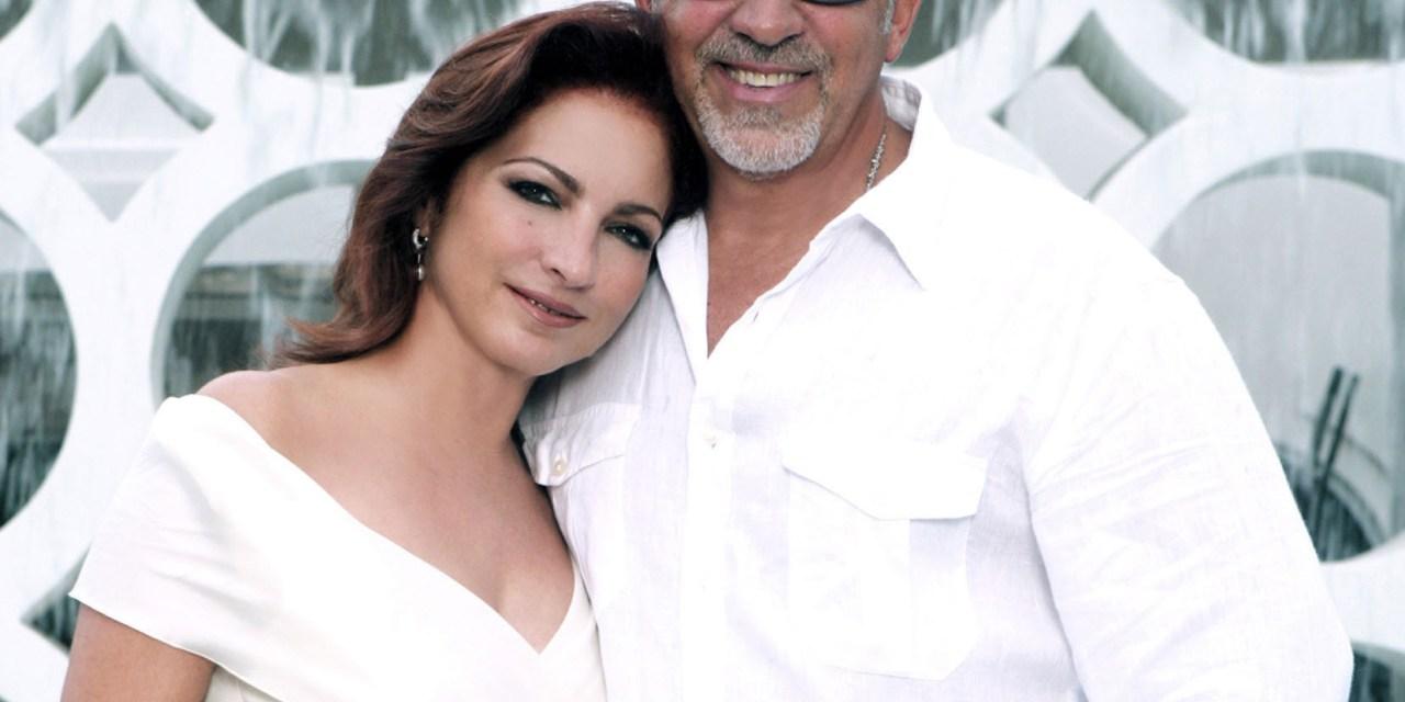 Gloria y Emilio Estefan en show de Broadway