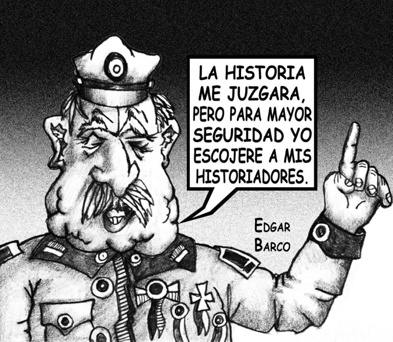 Dictador visto por Edgar Barco