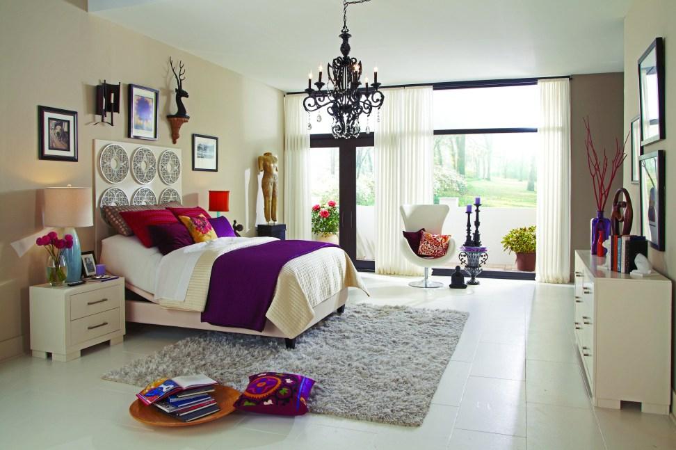Moderno estilo del dormitorio