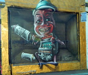 Bob muralista italiano en 5pointz, LIC.(Foto JD)