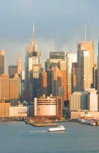 Vista del Midtown, distrito de la aguja de Manhattan, (Foto Nueva York Digital)