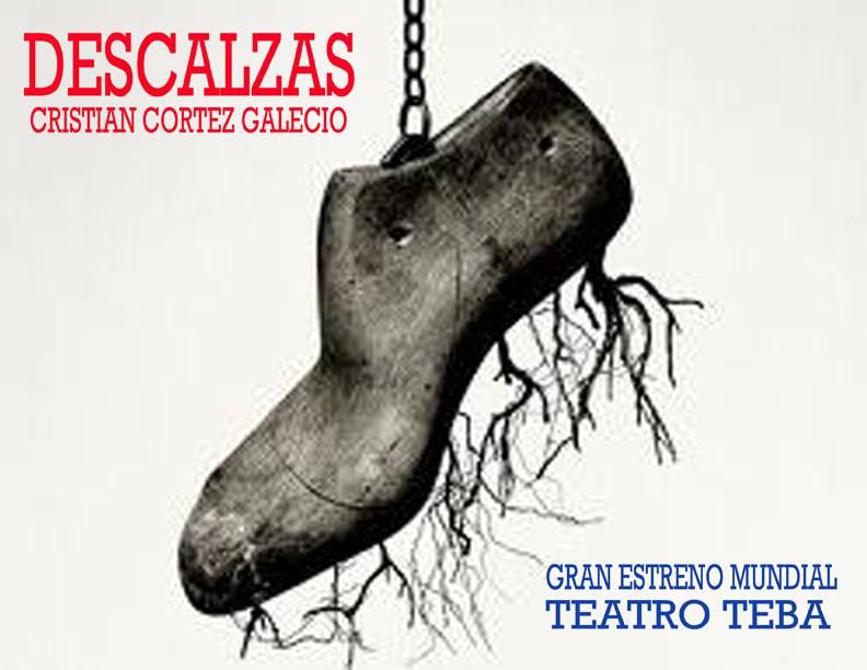 'Descalzas' obra teatral sobre violencia contra la mujer