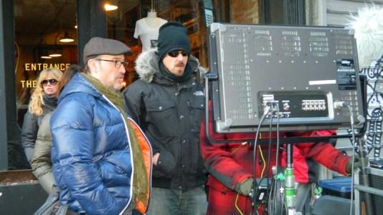 Rodaje de la película ´La vida inesperada´, protagonizada por Javier Cámara y dirigida por Jorge Torregrossa. Foto credito NYD