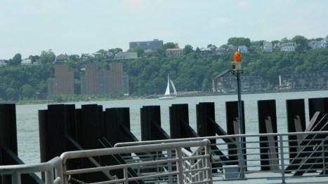 Estación del NY Waterway Ferry en Manhattan. {Foto Nueva York Digital)