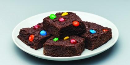 Nuevo brownie con mantequilla de maní