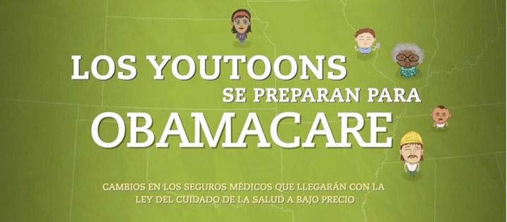 Los You Toons se preparan para Obamacare