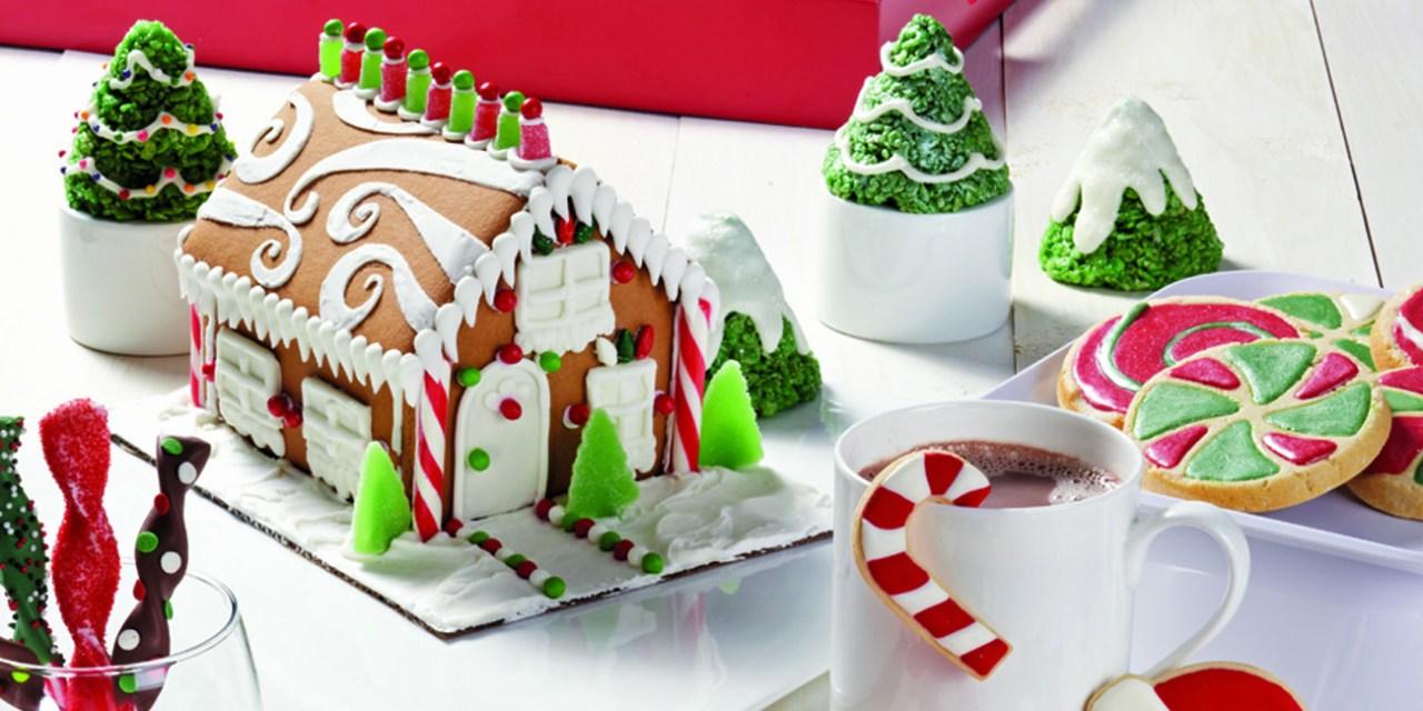 Deliciosos dulces en Navidad