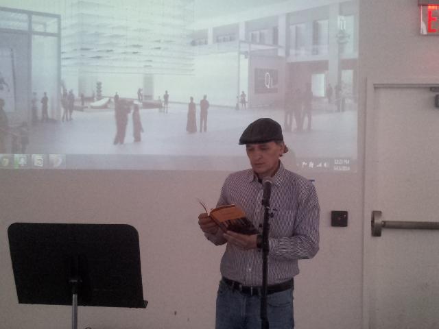 Pedro Arturo Estrada en QM. Foto Nueva York Digital.