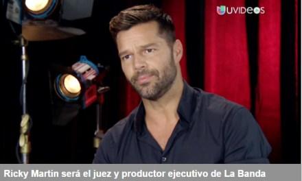 Ricky Martin manejará la carrera del ganador de UNIVISION