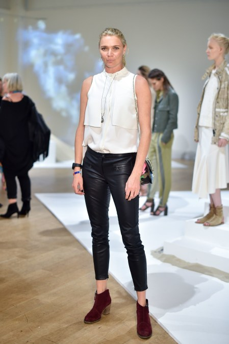 Belstaff SS16 LFW Presentation Jodie Kidd Photo Credit Nick Harvey