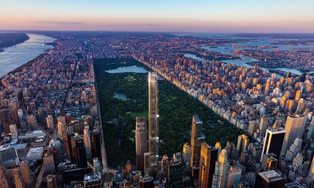 Edificio residencial más alto del mundo en NY- 1135 millones de dólares