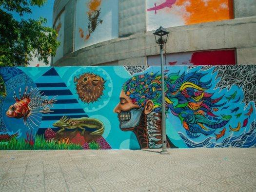 Nueve Arte Urbano Uniendo Culturas A Traves Del Color