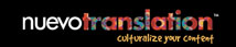 NUEVO ADVERTISING GROUP ® RECENTLY LAUNCHED NUEVOTRANSLATION.COM