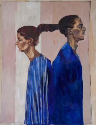 Dolores Erhart del Campo. Marina, óleo sobre tela. 100 x 130 cm. 2012. Selección del jurado