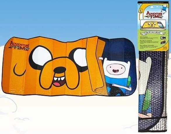 Adventure Time Car Shade