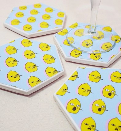 Earl of Lemongrab Coasters