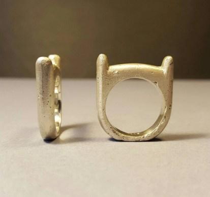 Adventure Time Finn Ring Silver