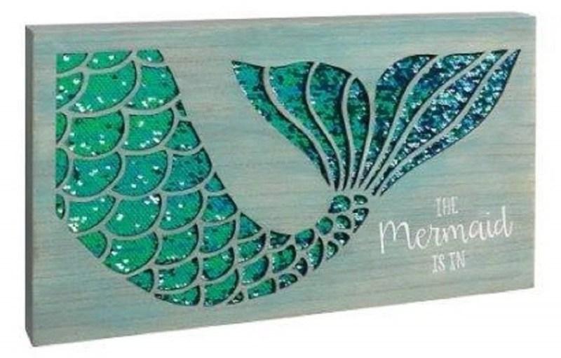 Mermaid Sequin Sign