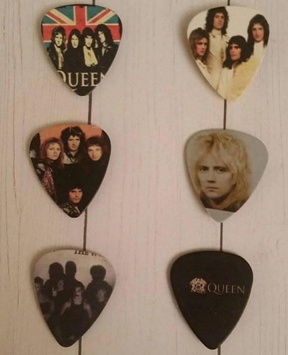 Queen Guitar Pick Magnets