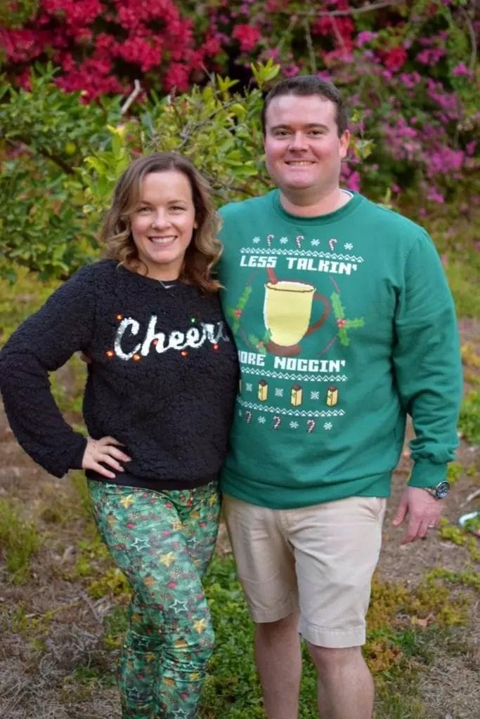 Festive sweaters