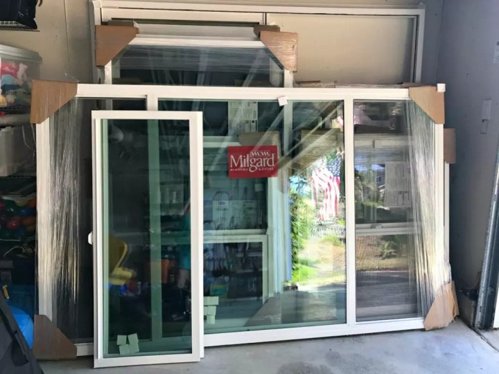 Replacement Windows Delivered
