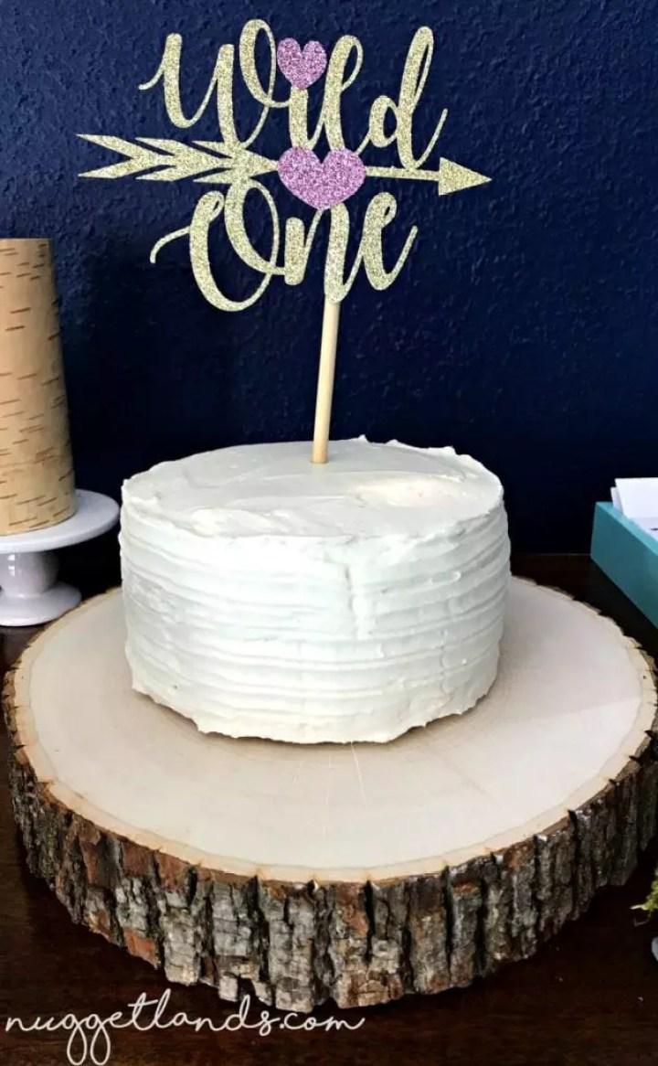 smash cake wild one birthday