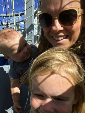 Safari Park Balloon Ride Selfie