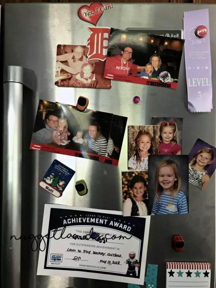 remembering loved ones fridge