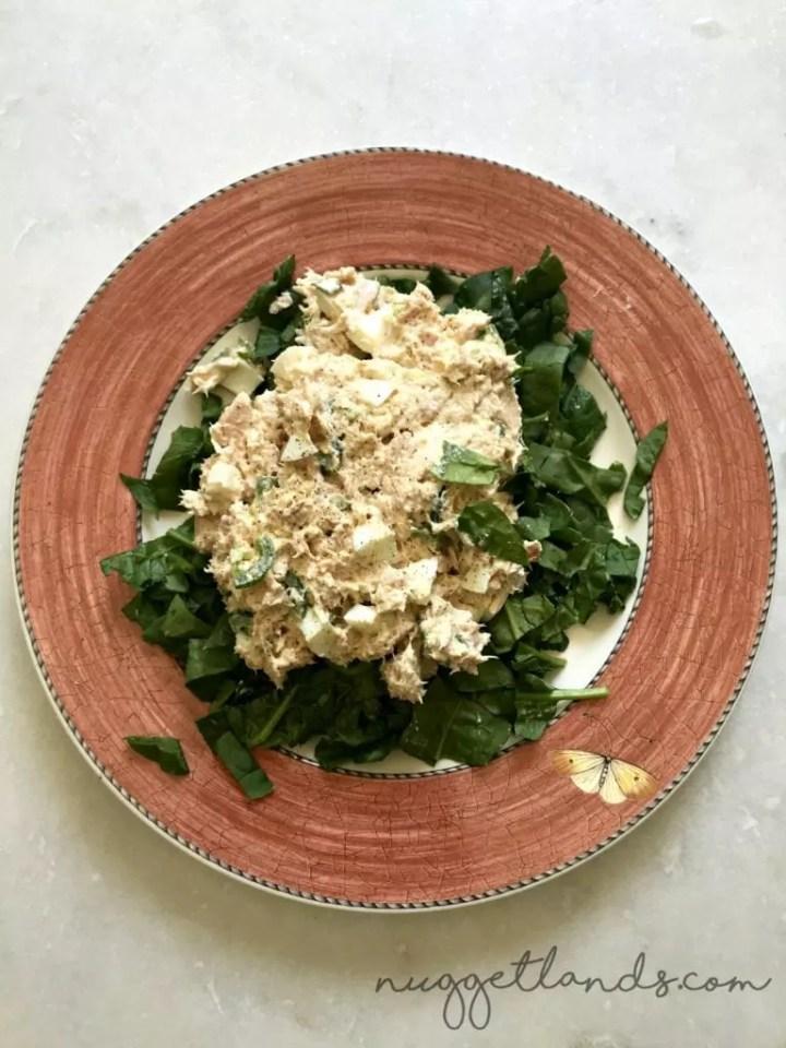 whole30 week 1 tuna salad