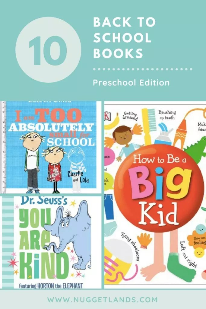 Best back to school books for your preschool or for kindergarten kid to help transition into the classroom. Make the 1st day a breeze with these fun children's books. #backtoschool #books #preschool #kindergarten #childrensbooks #firstdayofschool #parenting