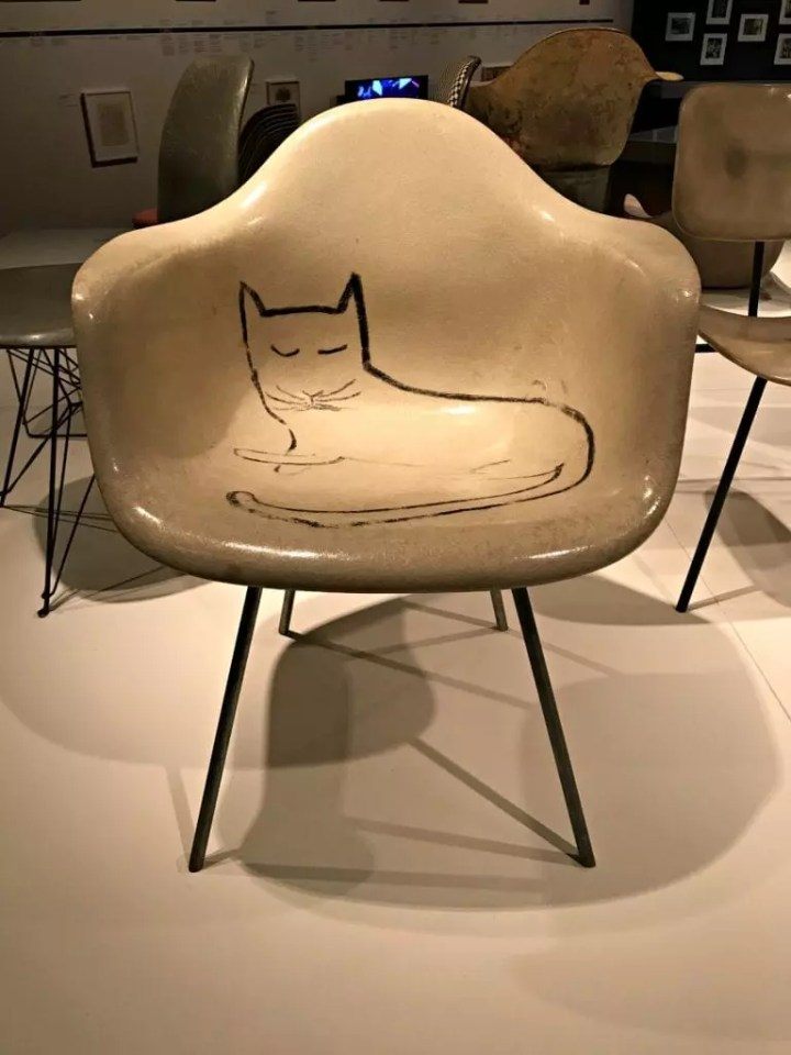 Henry Ford Museum Eames Cat Chair