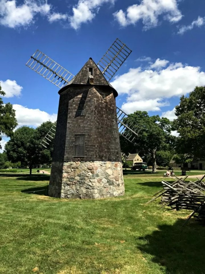 Henry Ford Museum Greenfield Village Windmill