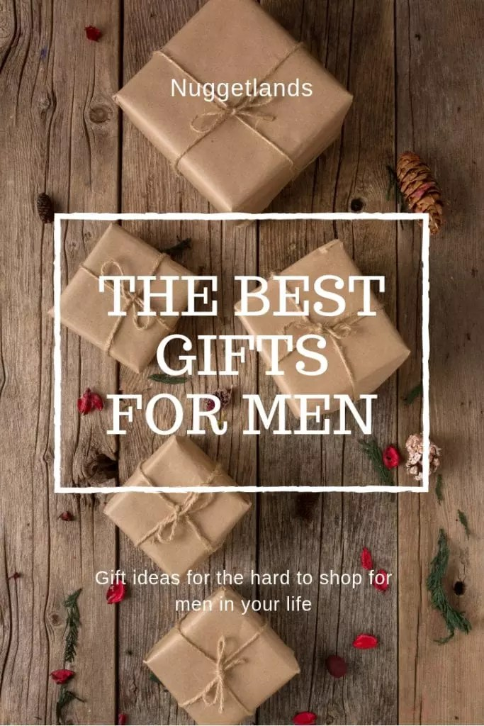 The best gifts for men who have everything and don't need anything for their birthday or Christmas. Great gadget ideas for a husband, boyfriend or even grandfather. Unique gifts for for every budget and interest from outdoor, fitness, tech, homemade, useful, DIY and funny. #christmas #gifts #giftguide #men #husband #birthday #fathersday #gadgets #anniversary #father #grandfather
