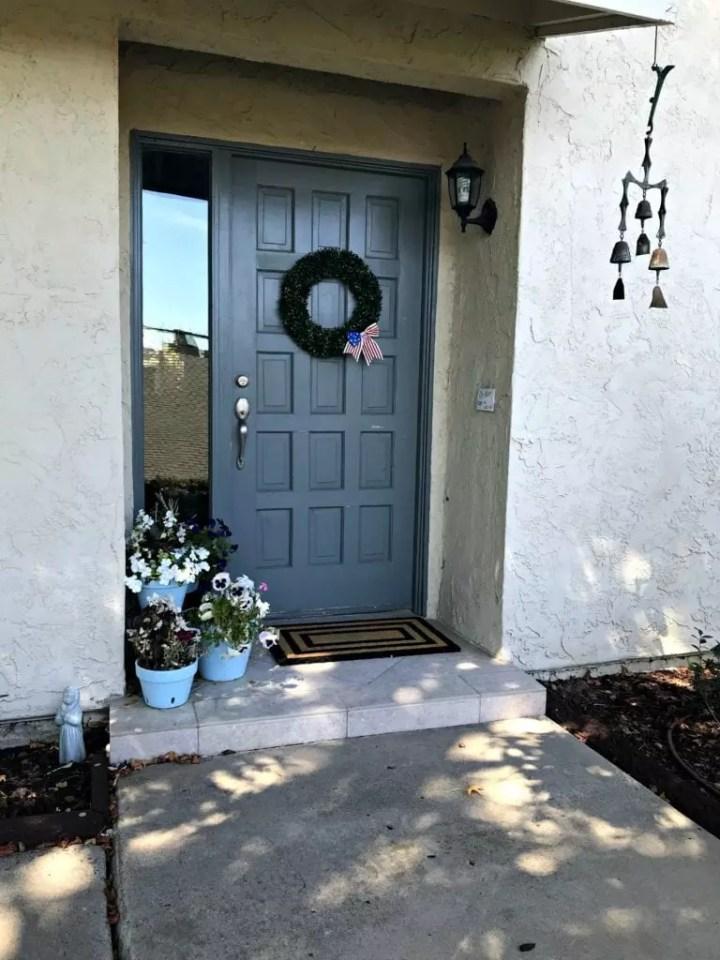 front door before wide shot