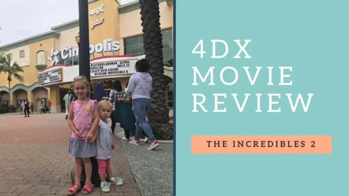 4DX Movies are a Must See for the Whole Family
