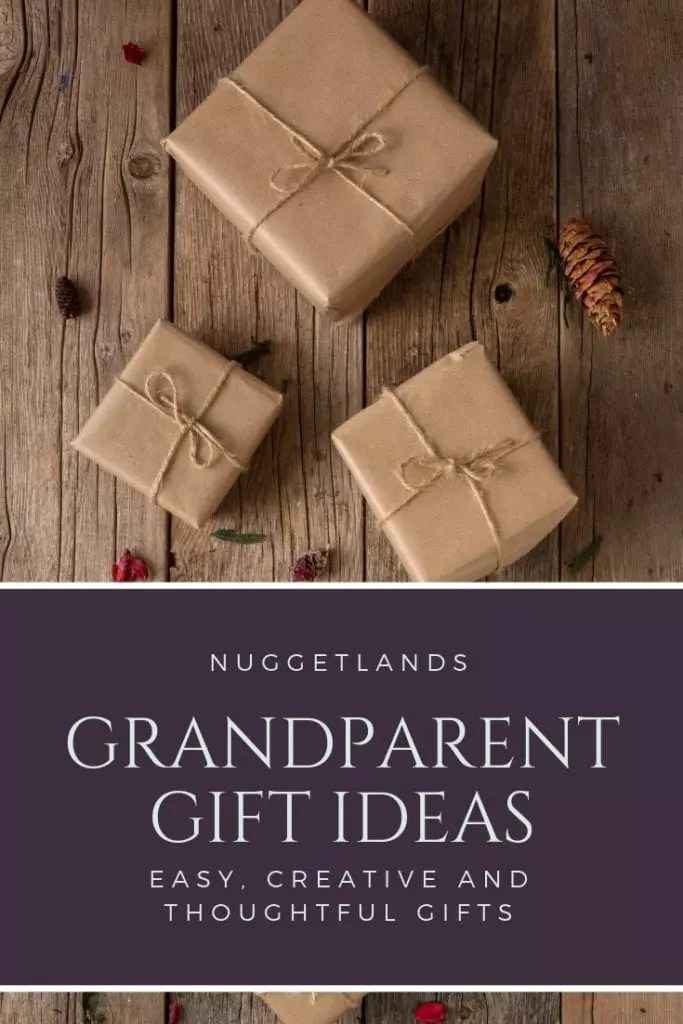 grandparents gift ideas from kids for christmas easy personalized homemade and creative presents