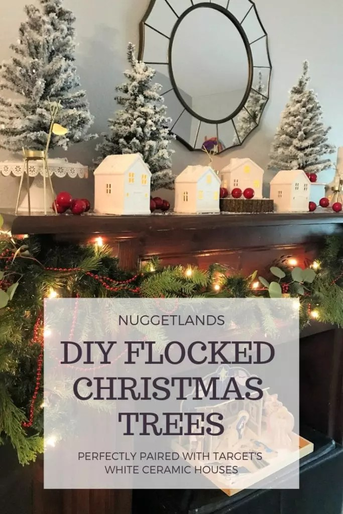 How to DIY a Flocked Christmas Tree